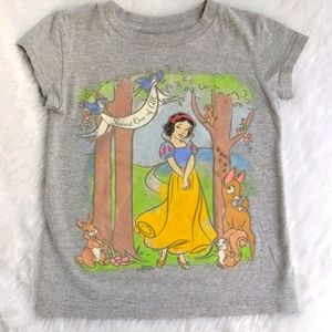 Girls Snow White T-shirt Size 4